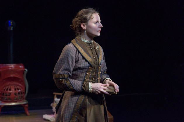 "Rachel Lee Kolis as Christina Linden in Mamaí Theatre Company's ""A Doll's House."" Photo by Bob Perkoski."