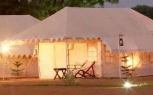 Luxury Swiss cottage tents 3