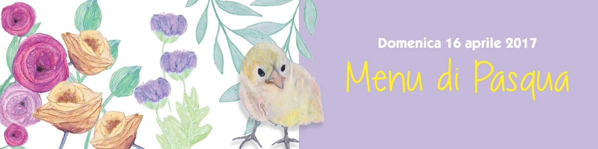 Banner Menu di Pasqua
