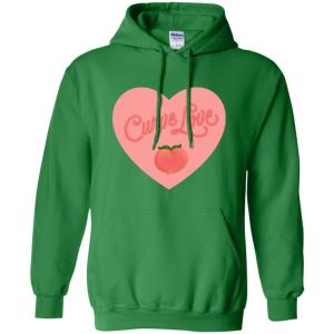 Curve Love Classic Fit Hoodie Sweatshirt in Irish Green from AllGo's merch store featuring plus size statement apparel and more