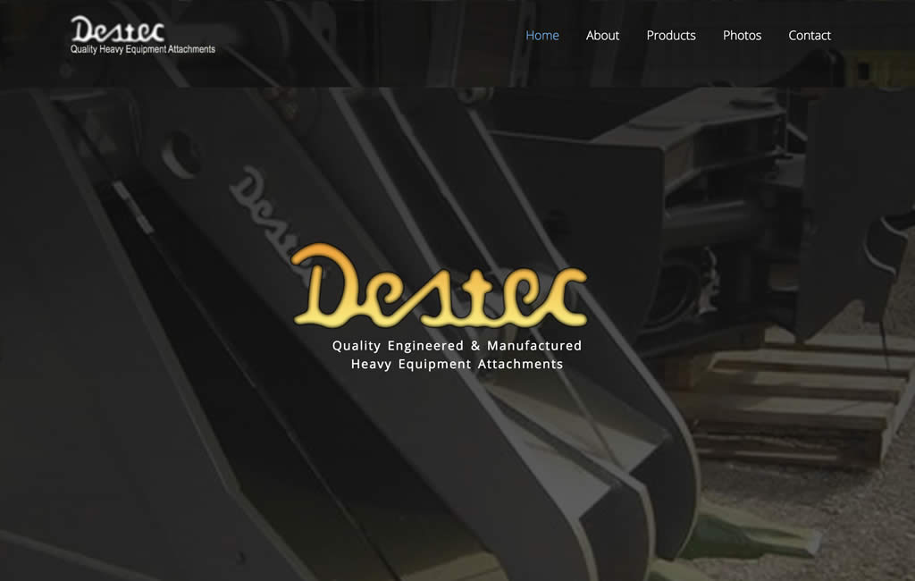 Destec Attachments | Quality Engineered and Manufactured Heavy Equipment Attachments