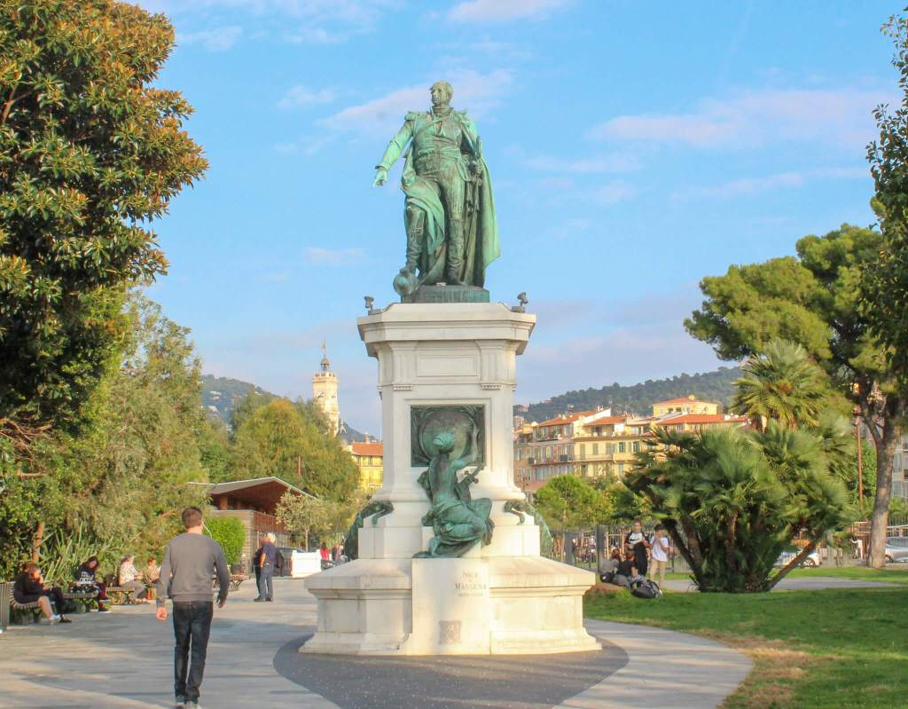 Statue in Nice, France