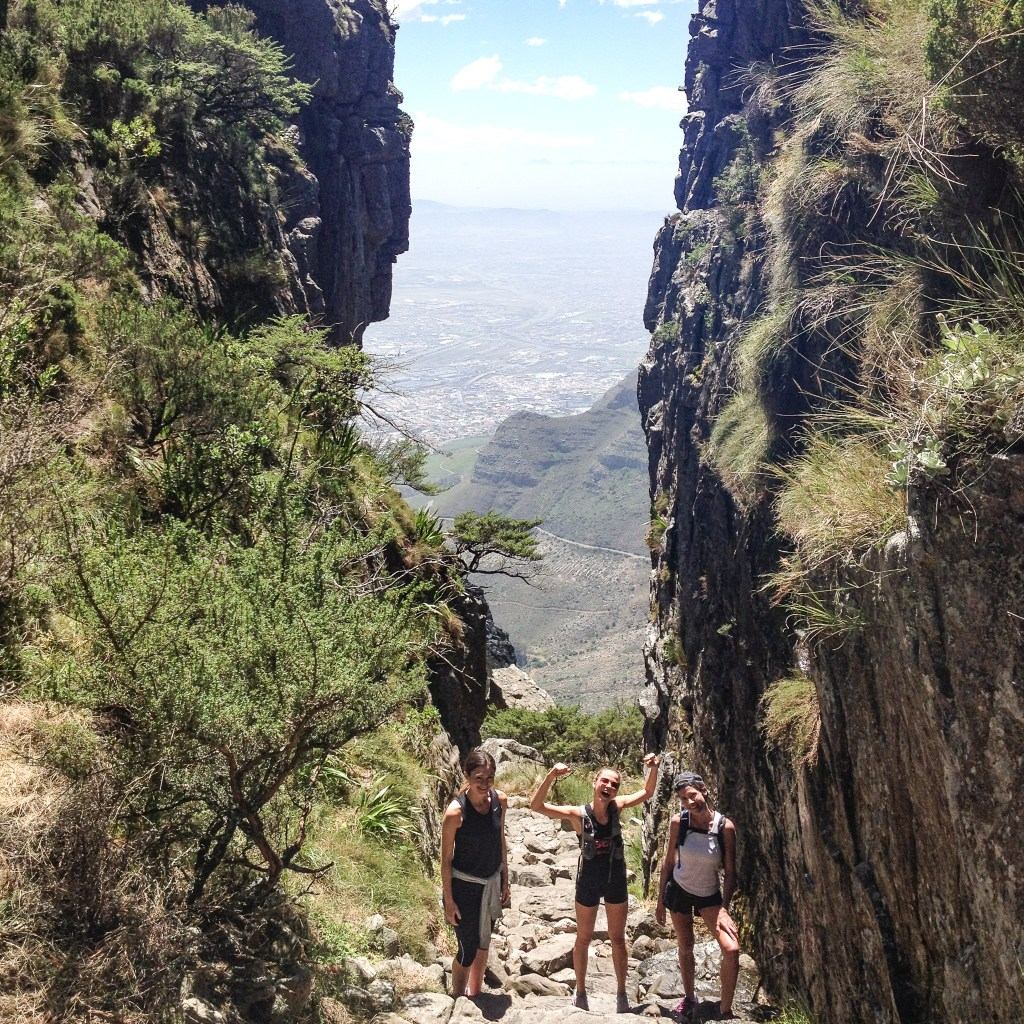 Hiking Table Mountain in Cape Town, South Africa