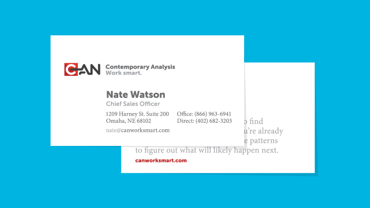 What to put on your business card