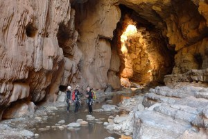 Canyoning in Morocco in the region of Agadir