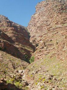 Paysage du canyon Yagour.