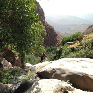 paysage du canyon de Tazitounte.