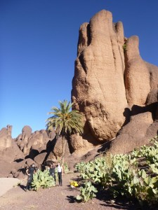 """Canyon """"Djebel Siroua"""" dans la région de Ouarzazate. Page séjours et tarifs."""