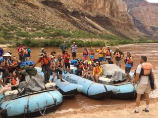 Nate Loper Leading Grand Canyon River Trip