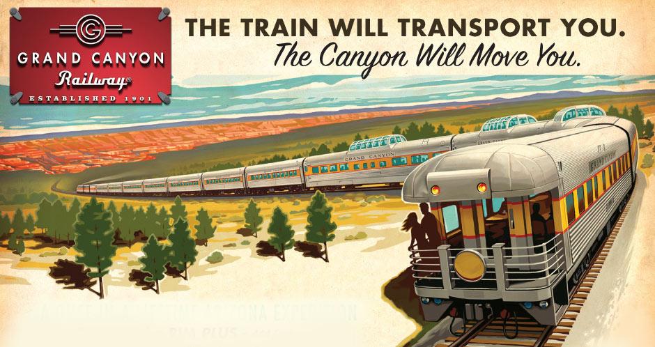 Grand Canyon Train & Canyon Ministries Sunset Tour