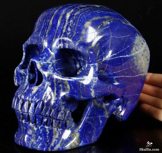 These Realistic Human Skulls Carved From Crystal And