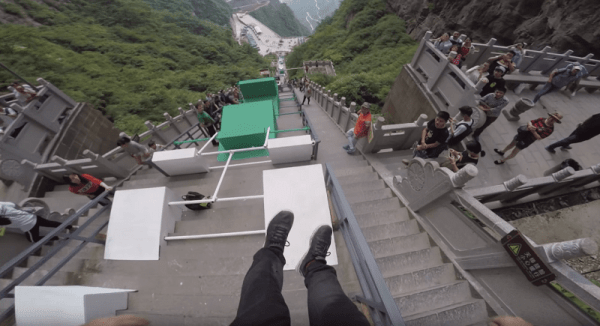 Insane POV Of A Dude Going Down The World's Largest ...