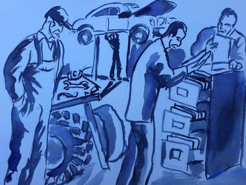 Ilustración de Manuel Martín Morgado,