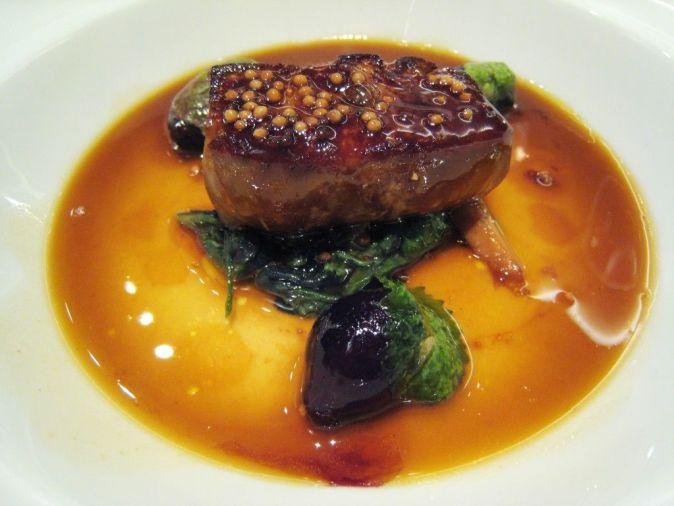 Pastel foi-gras al Aspic