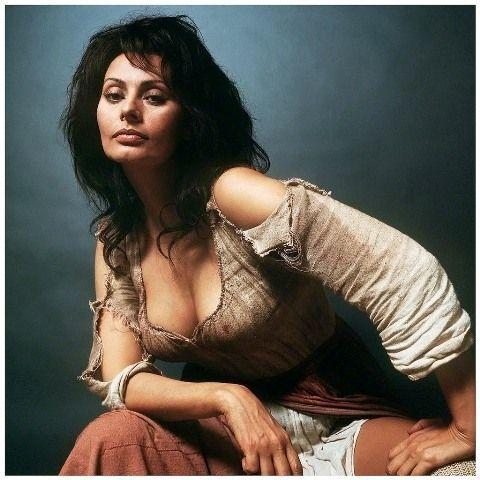 Sofía Loren aportó pasión al personaje de Dulcinea.