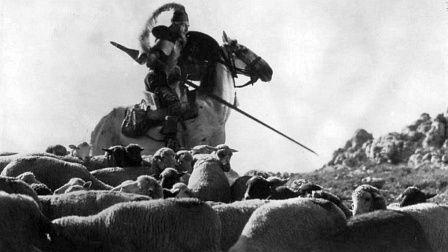 Una escena de 'El Quijote' de Pabst.