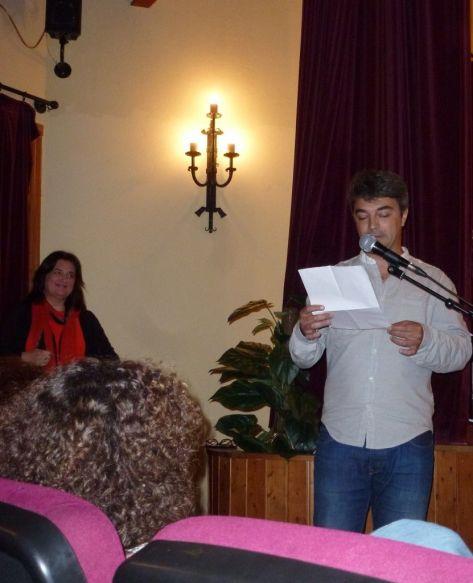 Iñigo Blanco Alegre, durante su intervención.