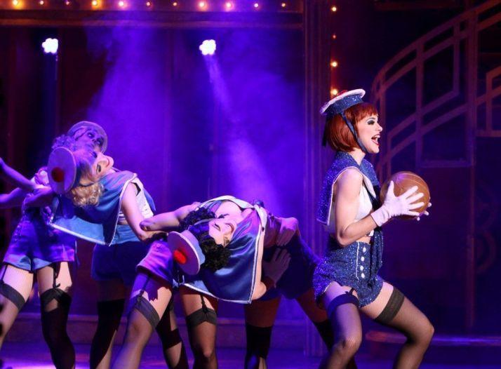 Un momento del conocido musical en el Teatro Falla.