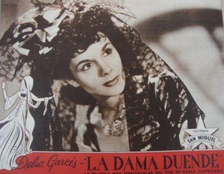 Afiche de 'La dama duende'.