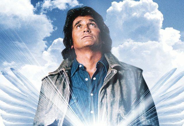 Michael Landon en una imagen promocional de 'Autopista hacia el cielo'.