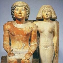 Hombre y mujer en el Antiguo Egipto