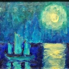 La cuarentena y la luna