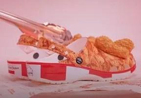 KFCがフライドチキンの匂いのするクロックスを発売