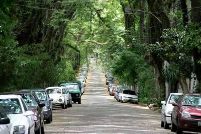 Onde fica a rua mais bonita do mundo?