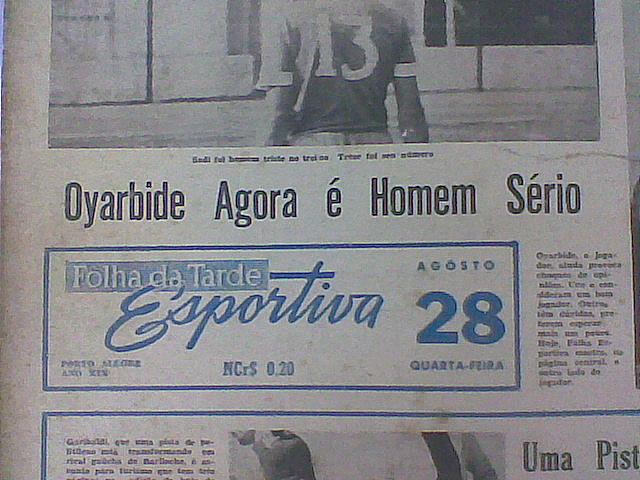 O pior jogador da história do Grêmio? (2/3)