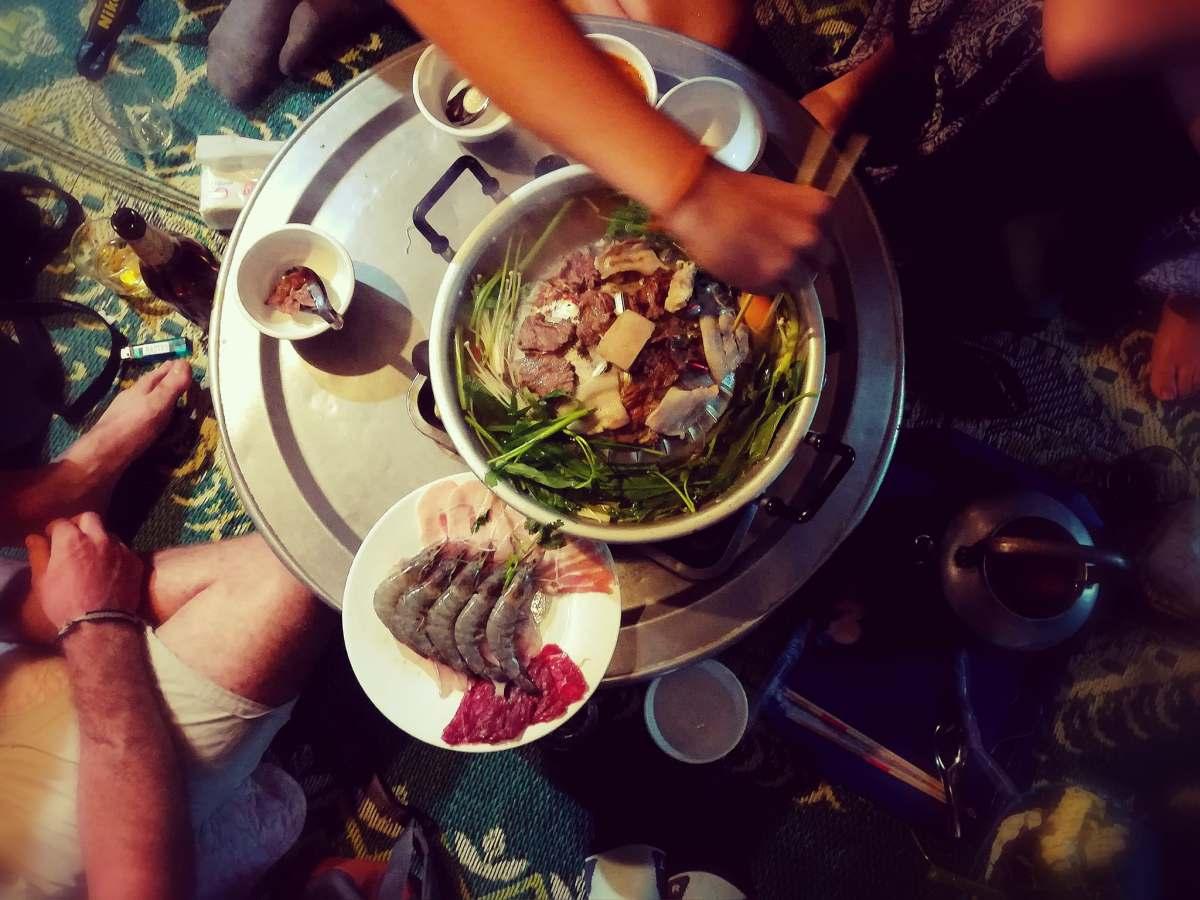 """J+225 Tester la """"fondue"""" locale..!"""