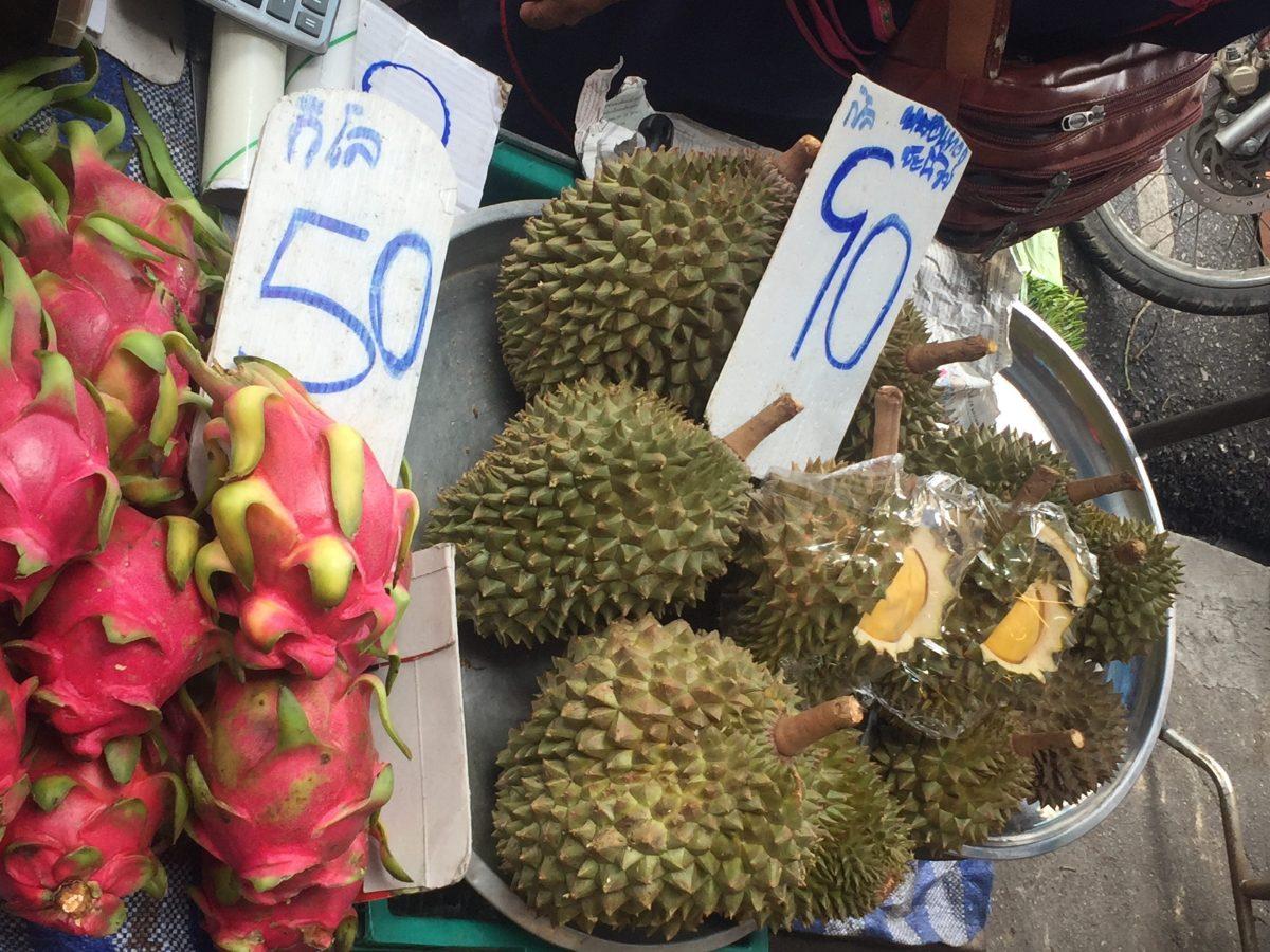 J+278 Goûter au Durian…
