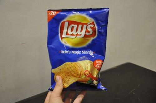 J+336 Tester les chips India's Magic Masala !