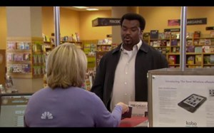 The Office The Ultimatum Darryl's new year's resolution is to have a big reading year and he buys a Kobo ereader