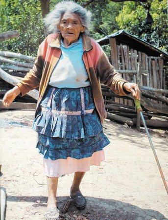 Petrona Hernández, conocida como Amanda Aguilar, una de las Mujers de El Cuá.