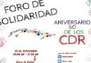 25 de septiembre 11:00 hs. Foro 60 años Comité de Defensa de la Revolución