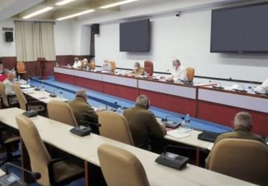Raúl Castro condujo sesión del Buró Político del PCC