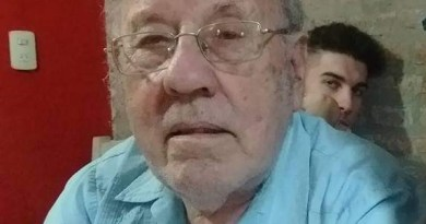 """Oscar Álvarez, """"Cachulin"""", vivió militando y militó viviendo, del Sindicato a Cuba."""
