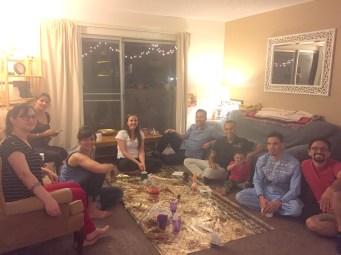 Our First Fellowship Dinner