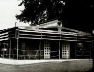 La Maison tropicale construite en 1949 à Niamey au Niger