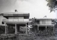 Les deux maisons construite en 1951 à Brazzaville en République Démocratique du Congo