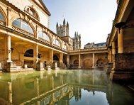 Bath ancienne citethermale romaine