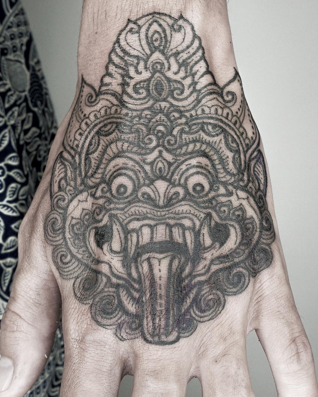 Balinese Tattoo Motif