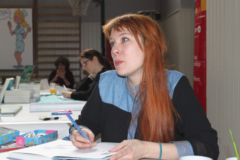Léonie Bischoff à CAP Bulles