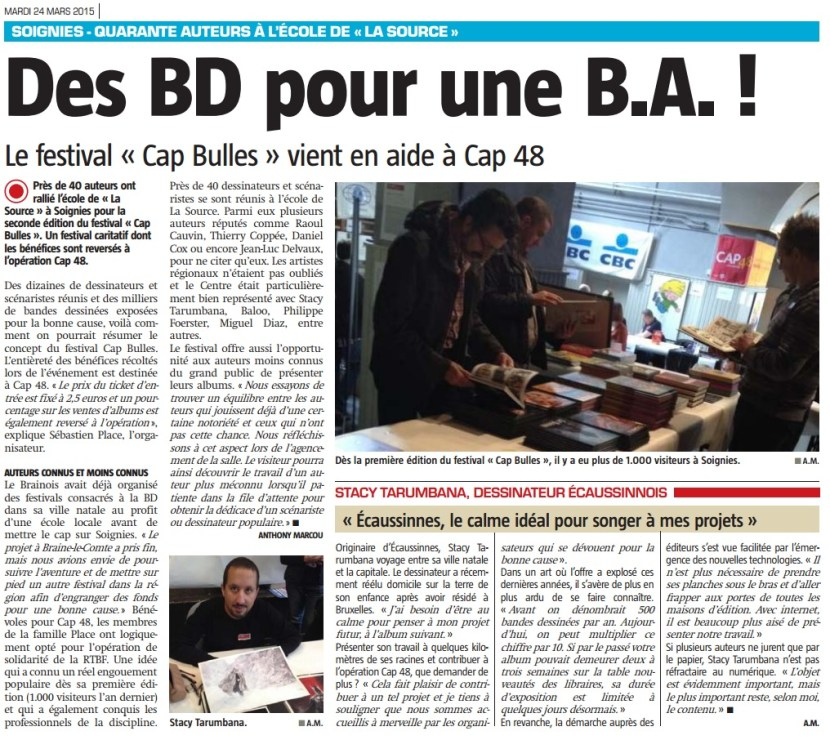 Article 2 Nouvelle Gazette CAP Bulles 2015