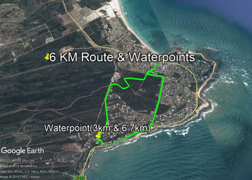 Struisbaai 6km Trailrun 2018