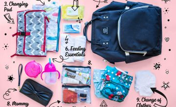 Best Diaper Bag Essentials Checklist