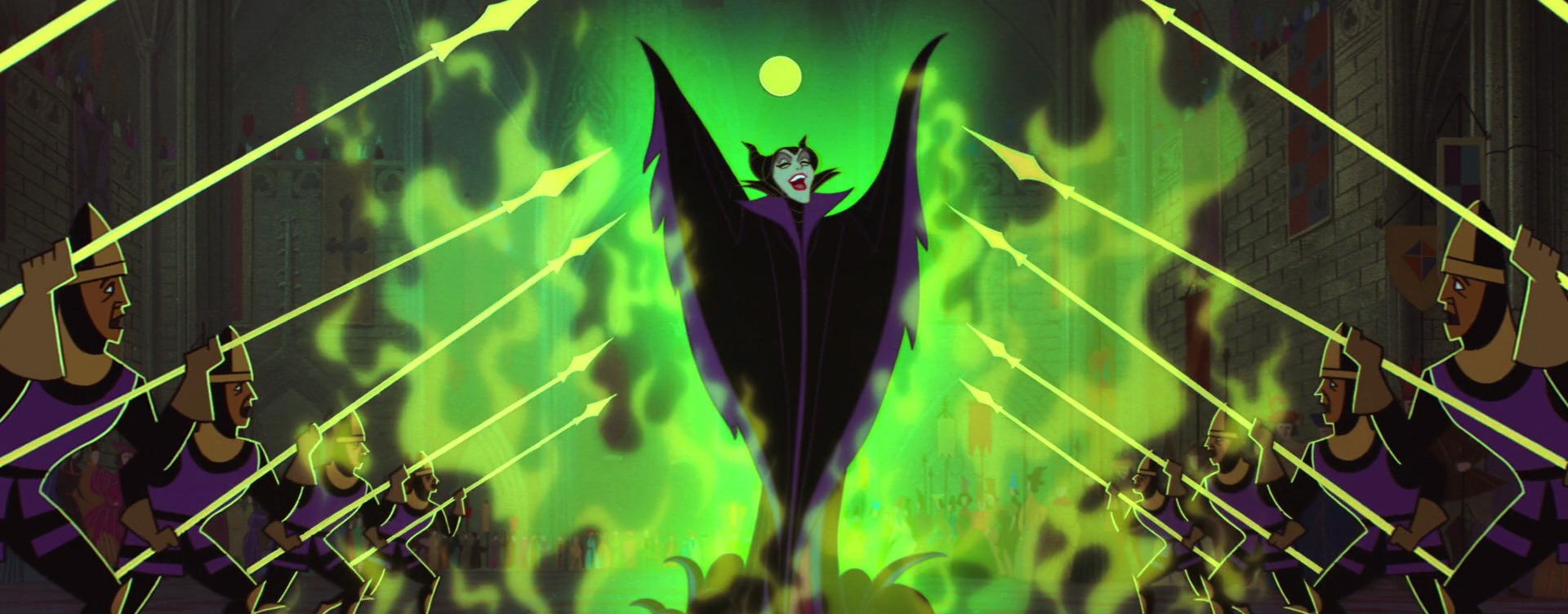 Animated Maleficent