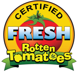 """This film has been certified """"Fresh"""" by RottenTomatoes.com (click for more reviews)."""