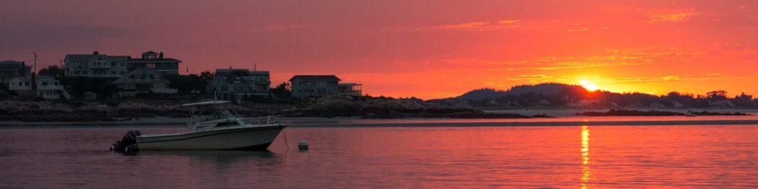 Sunset Cambridge Beach Annisquam