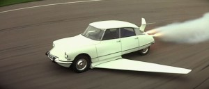 Citroen with wings